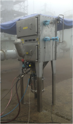 Filter system at Denios AG